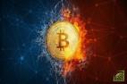 Транзакция в сети bitcoin на текущий момент идет примерно 1 час