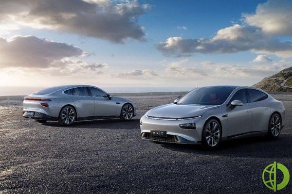 Xpeng является китайским стартапом по производству электромобилей
