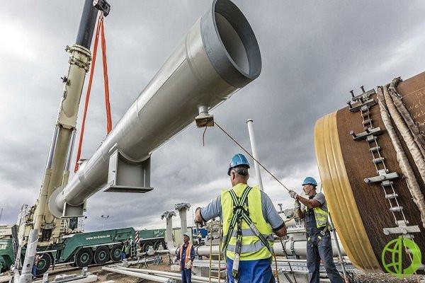 США наложили санкции на строительство трубопровода
