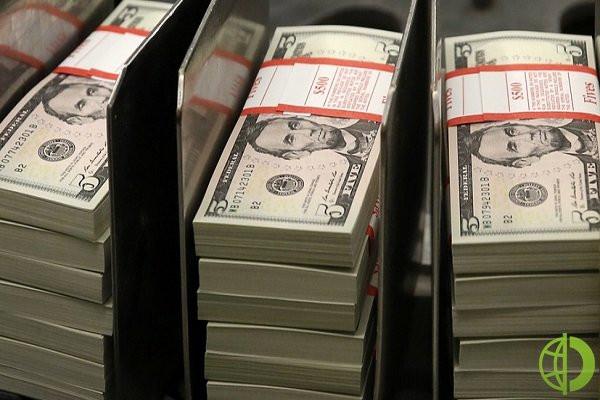 Россия уменьшила вложения в государственные облигации более чем на 19%