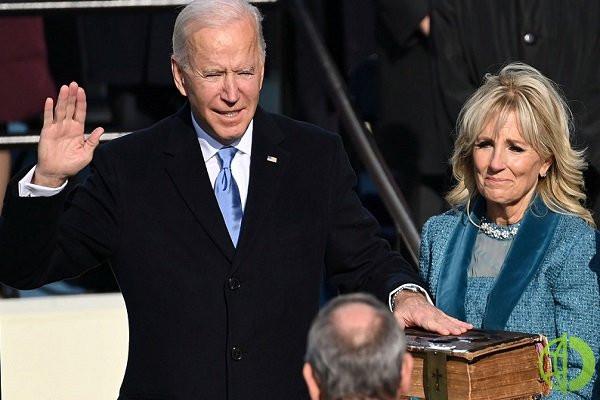 Из-за ограничений по Covid-19, инаугурация президента в 2021 году прошла без массового участия
