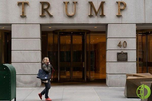 Доходы от его отелей в Вашингтоне и Лас-Вегасе упали более чем наполовину