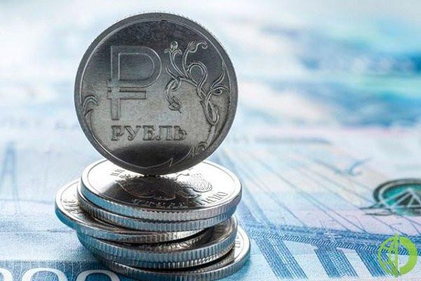Российская национальная валюта подорожала на 0,7% до 90,98 по отношению к евро