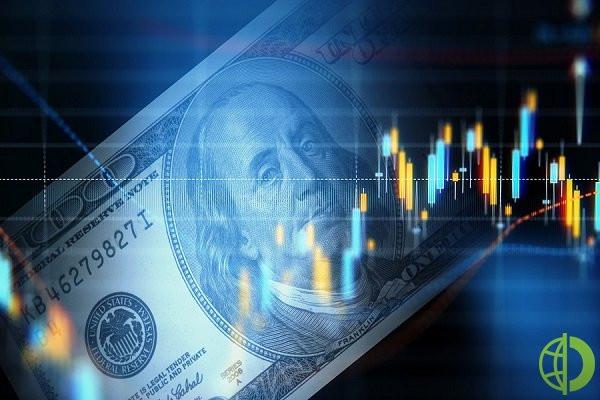 Индекс ICE, отвечающий за курс американского доллара по отношению в валютной корзине вырос на 0,1%