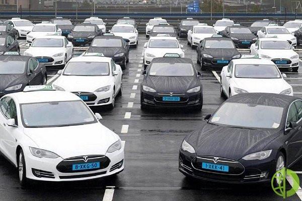 Доля продаж на рынке электромобилей возглавляемой Илоном Маском компании сократилась до 69%