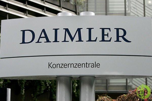 В I квартале чистая прибыль акционерам Daimler AG составила до 4,29 млрд евро, или 4,01 евро на акцию, с 94 млн евро в прошедшем году или 0,09 евро на акцию