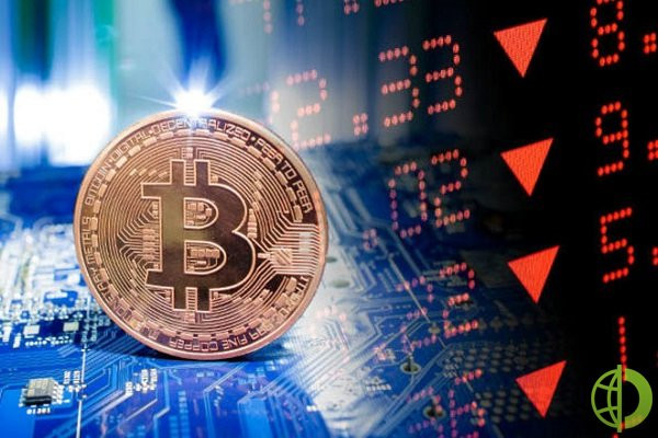 В данный момент крупнейшая криптовалюта упала 1,75% относительно прошлой сессии и торгуется на уровне 43 400 долларов за монету