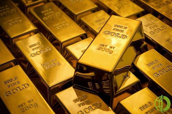 Спотовая стоимость золота поднялась на 0,2% до $1801,48 за унцию