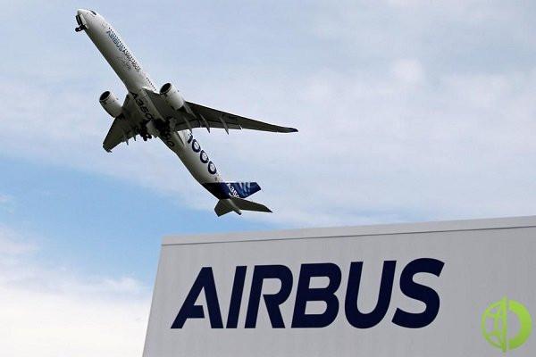 Во втором квартале Airbus заявил об операционной прибыли в размере 2,009 млрд евро