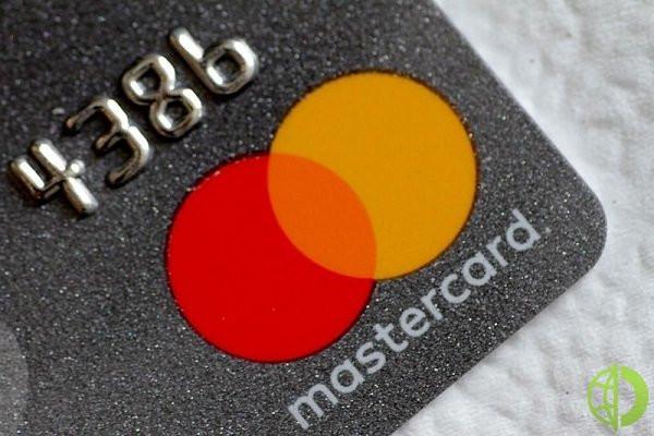 Скорректированная прибыль Mastercard достигла 1,94 млрд долларов