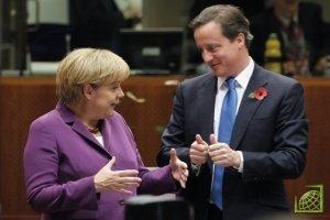 Ангеле Меркель не удалось убедить Дэвида Кэмерона поддержать увеличение бюджета ЕС.