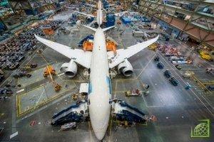 787-10 Dreamliner – удлиненная версия существующего самолета – будет конкурировать с новым A350 от Airbus.