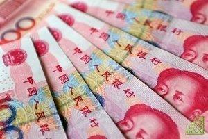 Китайский Центробанк провел сегодня аукцион по казначейским обязательствам на сумму 50 млрд юаней.