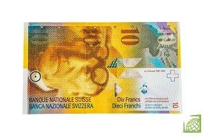 10 швейцарских франков были признаны самой красивой банкнотой 2017 ... 4fc8b4f84d6
