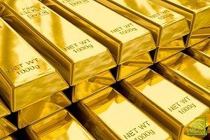 Котировки золота пытаются войти в коррекционный тренд