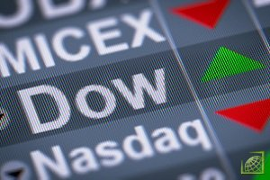 Индекс Dow Jones прибавил 16 апреля 0,87%