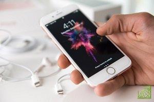 Объем продаж за квартал iPhone оказался ниже прогнозов
