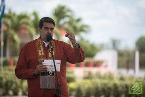 Мадуро переизбран на пост президента Венесуэлы