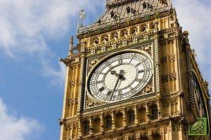 Биг-Бен — один из символов Британии