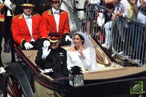 Свадьба британского принца Гарри и американской актрисы Меган Маркл состоялась 19 мая 2018 года в Лондоне