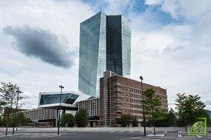 Штаб-квартира ЕЦБ, центрального банка еврозоны, находится во Франкфурте-на-Майне, ФРГ