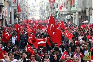  Президент Турции Реджеп Тайип Эрдоган лидирует на президентских выборах