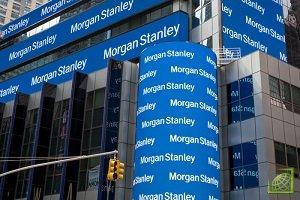 Доля брокерского бизнеса в общей выручке Morgan Stanley составляет около 45%