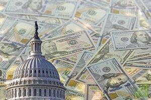 В 2016/17 фингоду дефицит госбюджета США составил 3,2% ВВП