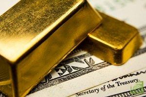 Цена золота идет вверх на фоне ослабления доллара к иене
