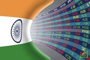 В пятницу ключевые фондовые индексы Индии завершили торги на отрицательной территории