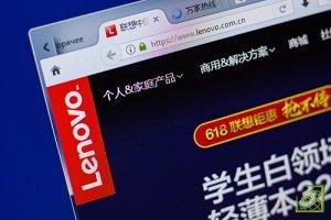 Квартальная выручка Lenovo увеличилась на 19%, до $11,913 млрд