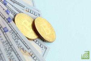 Первая электронная монета постепенно снижается