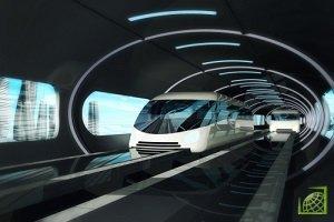 Бизнесмен Илон Маск объявил в своем твиттере, что первый вакуумный туннель для скоростного перемещения Hyperloop запустят 10 декабря