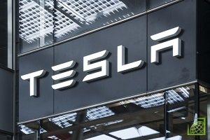 Акции Tesla выросли более чем на 12%