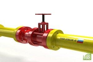 """""""Северный поток-2"""" должен транспортировать около 55 млрд кубометров российского газа ежегодно с РФ через Балтийское море в Германию"""