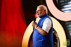Премьер-министр Индии Нарендра Моди заявил, что развитие финансовых технологий должно быть движением, которое может улучшить жизнь людей с наименьшим доступом к финансовым услугам