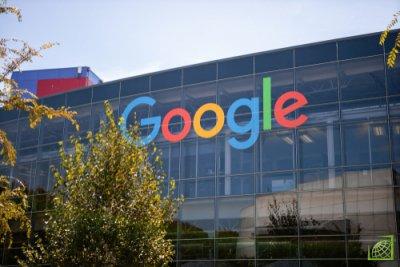 Ранее Роскомнадзор оштрафовал Google на 500 тыс. рублей за несоблюдение законодательства России
