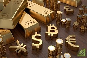 За предыдущие две торговые сессии золото подешевело на 0,7%