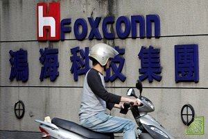 Apple является крупнейшим заказчиком Foxconn