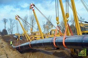 Несмотря на попытки европейских стран помешать строительству газопровода, оно будет завершено