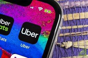 Когда пассажир и водитель связываются через приложение о поездке с Uber, оба номера будут анонимизованы