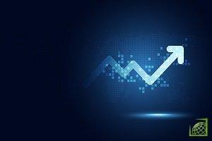 Спотовые торги на рынке Forex увеличились на 20%