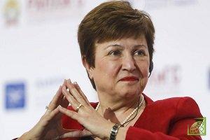 До этого МВФ возглавляла Кристин Лагард