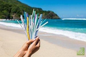 Запрет будет касаться также упаковок из так называемого биопластика