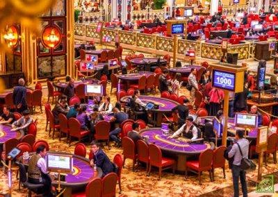 Если казино останутся закрытыми до конца квартала, прибыль снизится более чем на 70% год к году