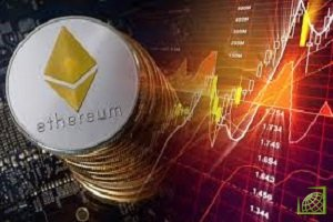 В данный момент криптовалюта Эфириум показывает все еще ниже 81,50% от своих пиковых значений