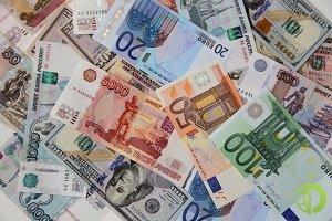 Доллар снижается а валютной корзине