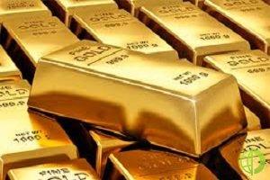 На биржах Азии фьючерсы на золото снизились в цене