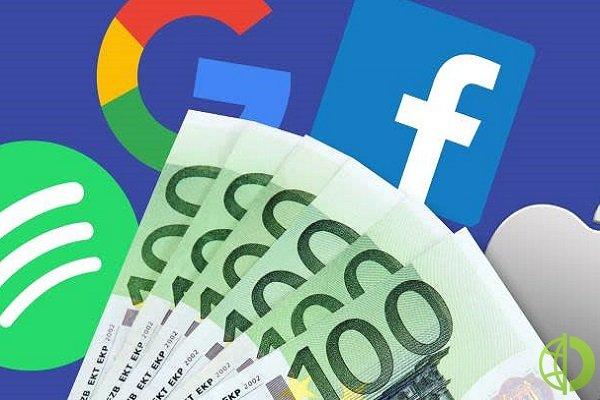 Под действие нового налога попали такие крупнейшие американские как Facebook Inc. и Amazon.com Inc