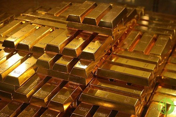 Спотовая цена золота находится на уровне 1 855,87 доллара за унцию